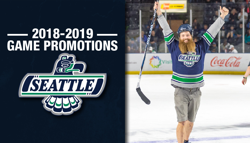 T-Birds Announce Promotions and Giveaways For 2018-19 Season