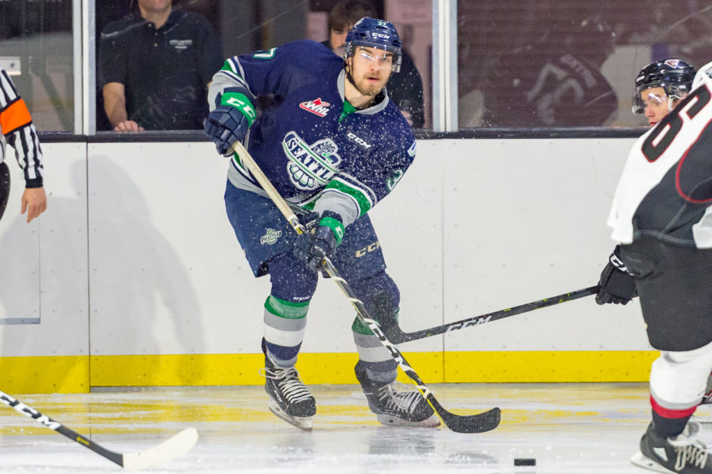 Giants Climb Past T Birds In First Preseason Game Seattle Thunderbirds