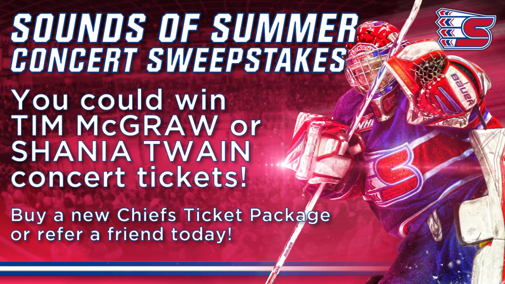WIN TICKETS TO SEE TIM McGRAW OR SHANIA TWAIN AT SPOKANE