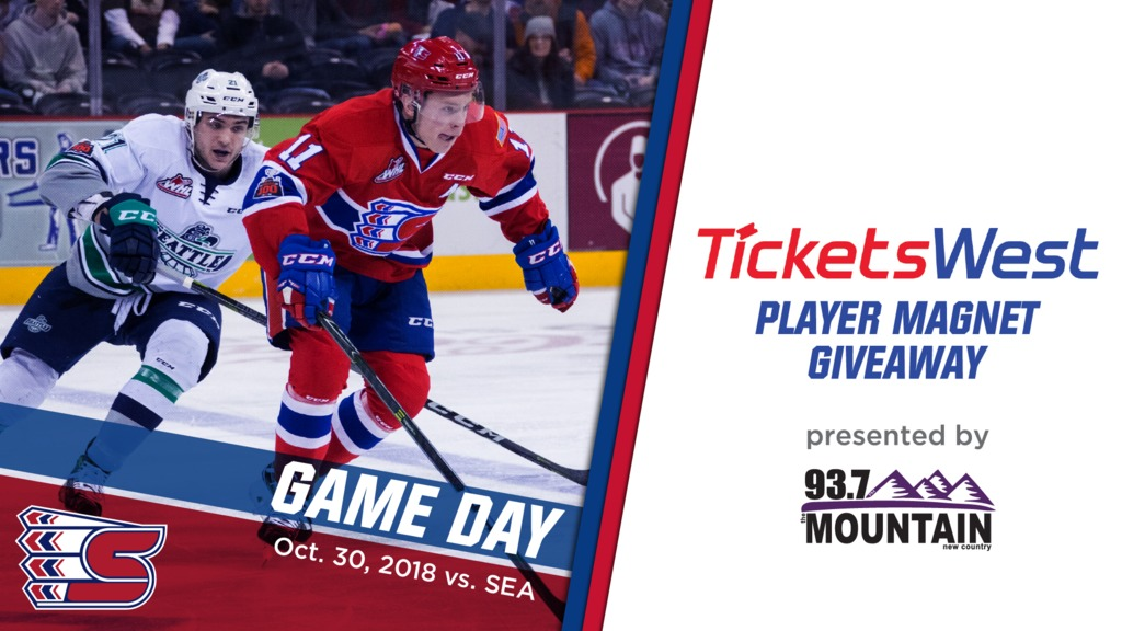 Preview Tuesday October 30 Vs Seattle Spokane Chiefs