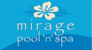 Mirage Pool 'n' Spa Logo