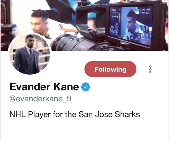 Kane Twitter