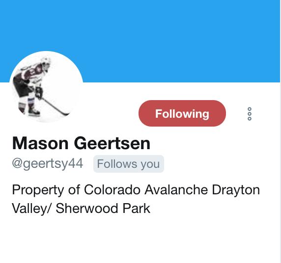 Geertsen Twitter