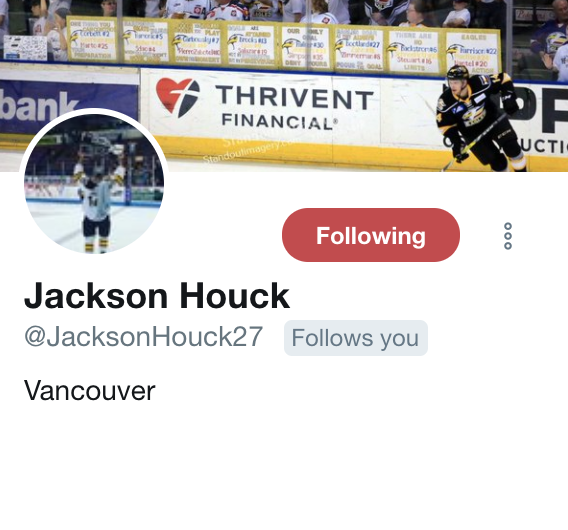 Houck Twitter