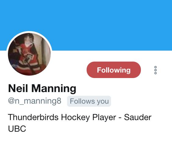 Manning Twitter
