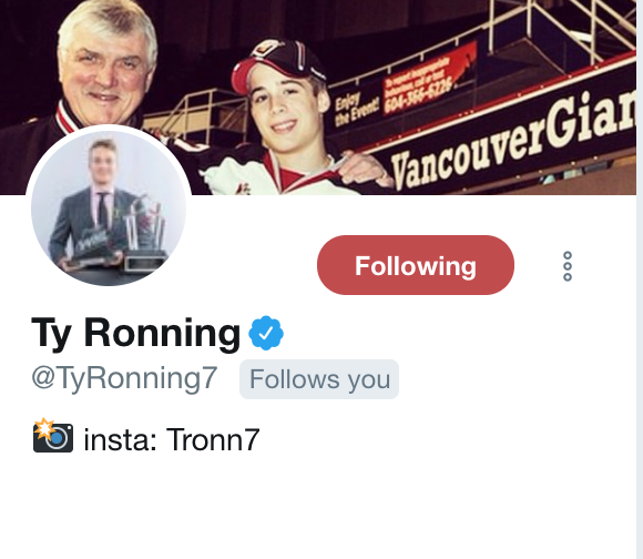 Ronning Twitter