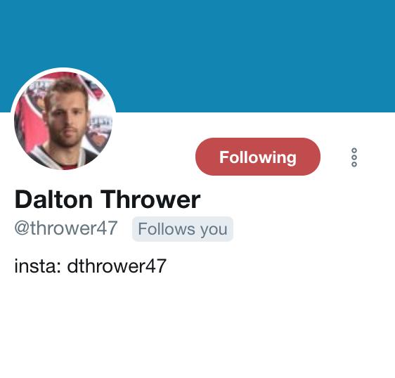 Thrower Twitter