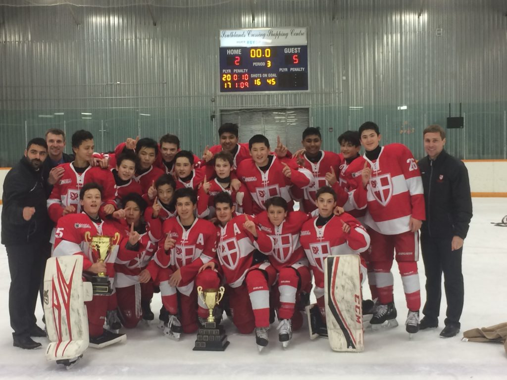 St Georges School Win 45th Hockey Hounds Major Bantam Hockey