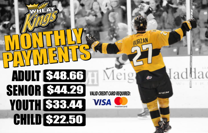 Monthly Payments Ticket Page
