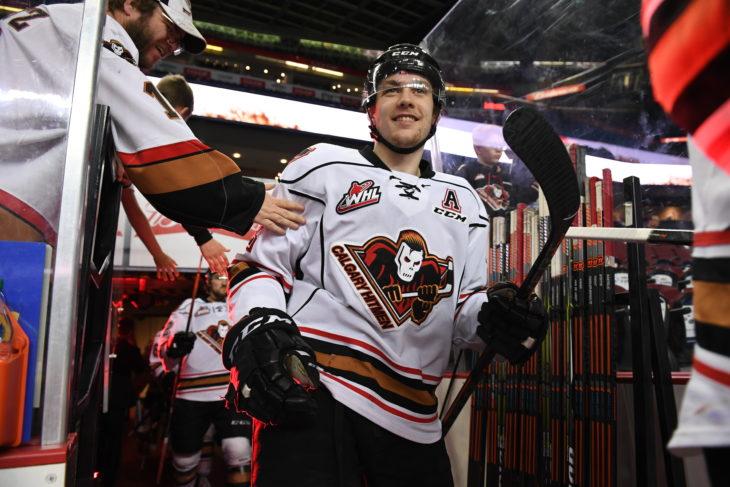 Dakota Krebs is set to skate in his 250th WHL game tonight