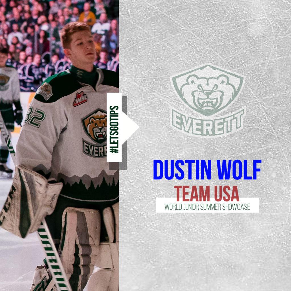 Team Usa Wolf Joining World Junior Summer Showcase Everett