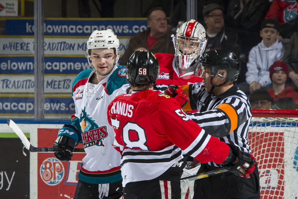Game Day Rockets Hit The Ice For Rare Sunday Home Game Kelowna