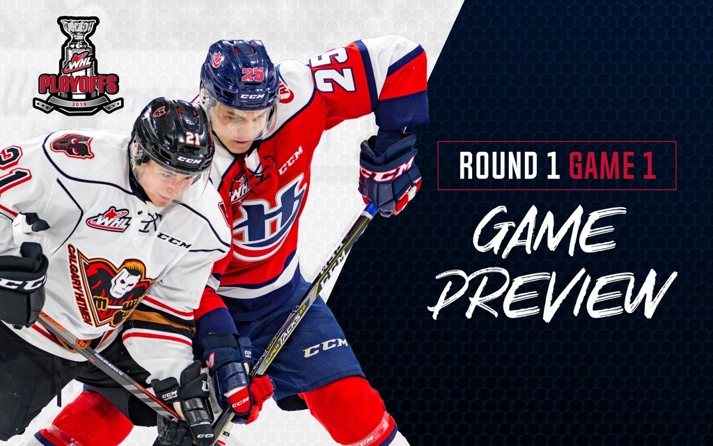 PLAYOFF GAME DAY: Hurricanes Host Hitmen in Game 1