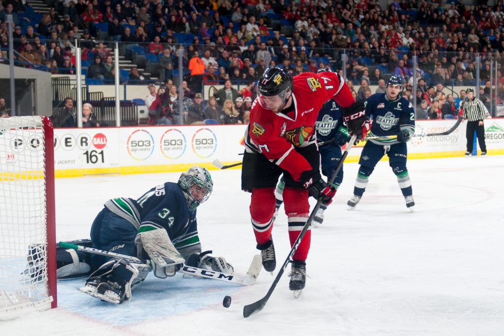 Winterhawks Game Day Preview Portland Vs Seattle Game 57