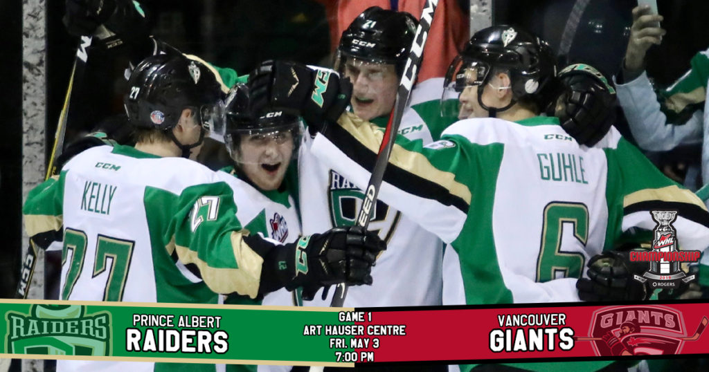 Game Preview 2019 Rogers Whl Championship Series Game 1 Vs