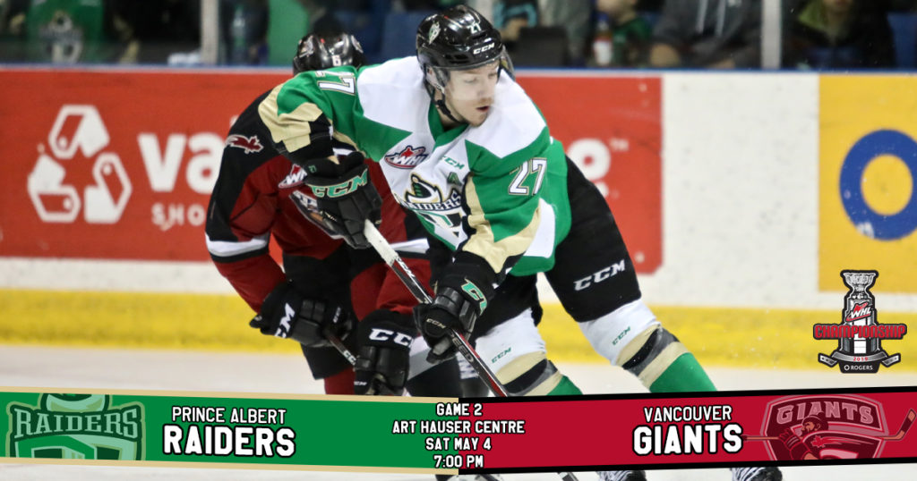 Game Preview 2019 Rogers Whl Championship Series Game 2 Vs