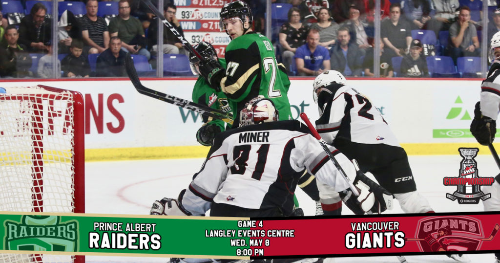 Game Preview 2019 Rogers Whl Championship Series Game 4 At