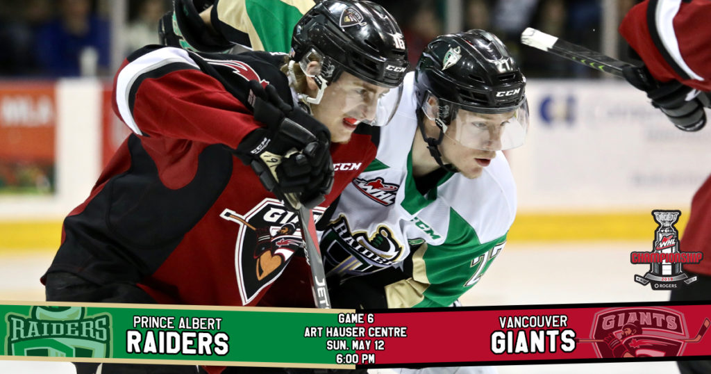 Game Preview 2019 Rogers Whl Championship Series Game 6 Vs