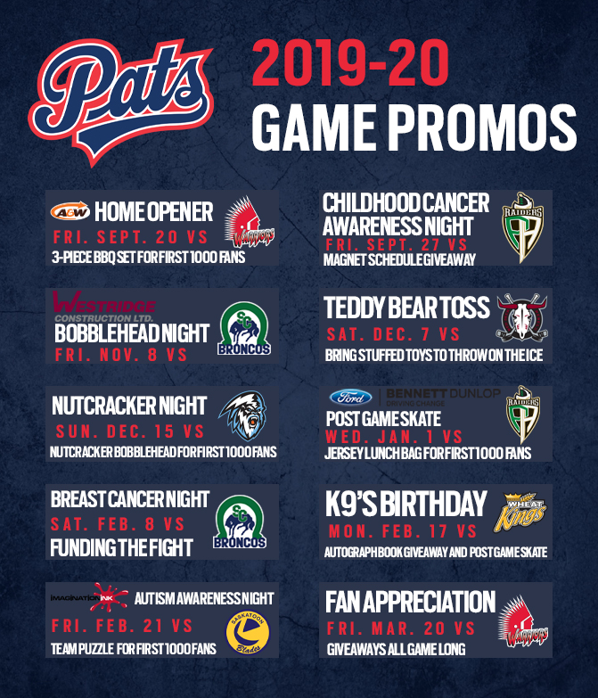 Game Promos Graphic Updated