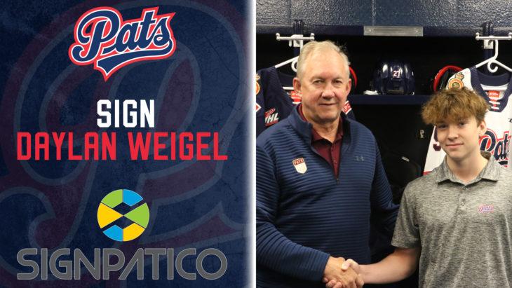 Weigel Signing
