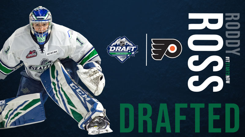 Roddy Ross Selected By Philadelphia Flyers At Nhl Draft Seattle