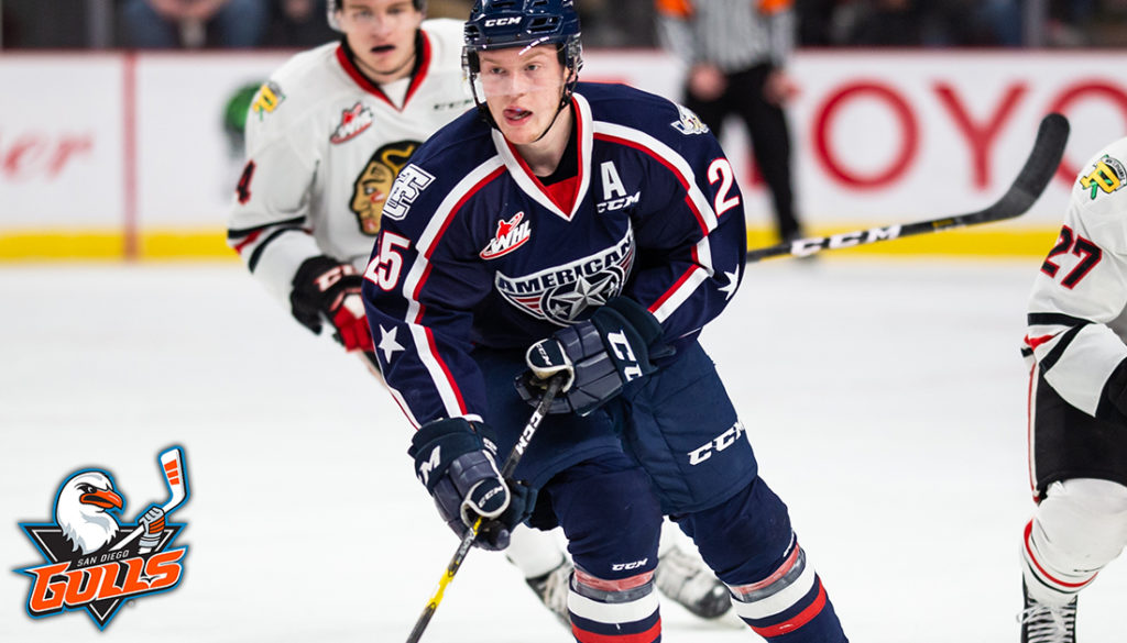 Olson Signs Ato With San Diego Tri City Americans