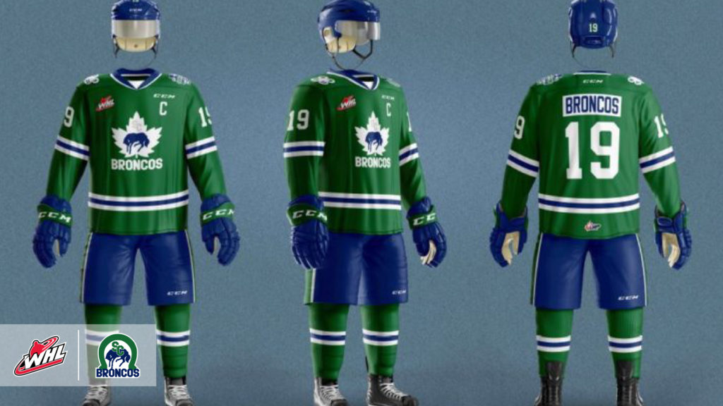 3281c420 Swift Current Broncos unveil Hockey Day in Canada jerseys – WHL Network