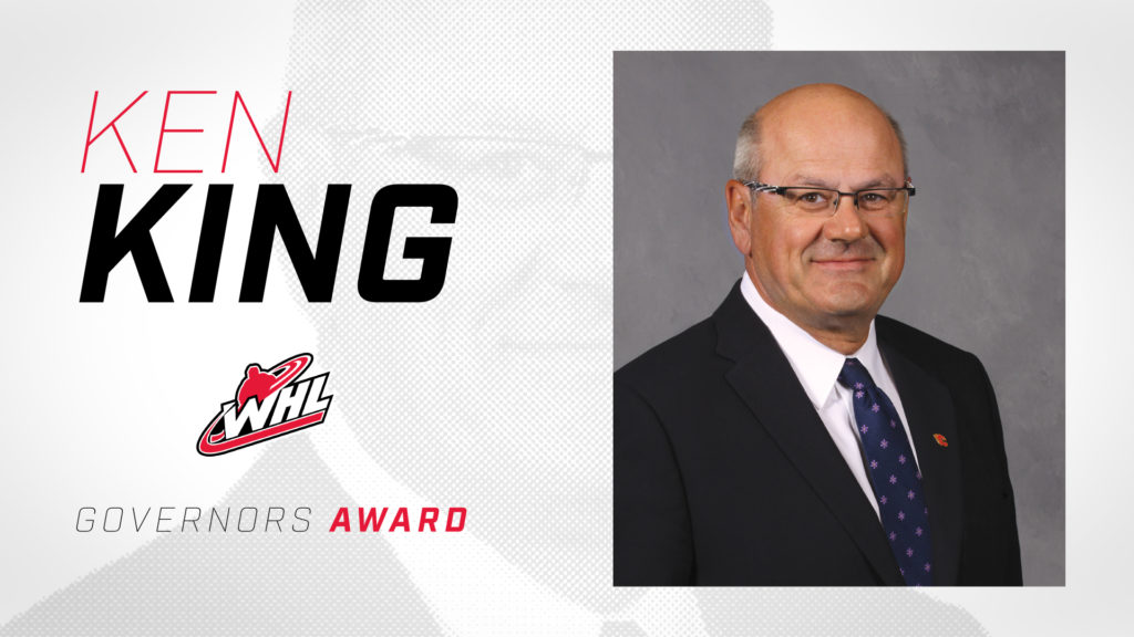 Whl Announces Ken King As Recipient Of Whl Governors Award Whl Network