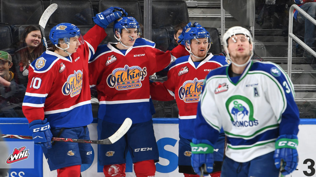 Whl Tonight Oil Kings Offence Erupts In Annual Hockey Hooky Game