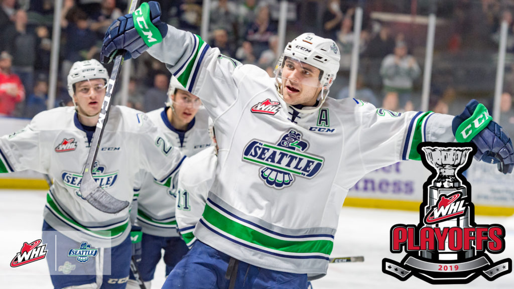 Seattle Thunderbirds Book Spot In 2019 Whlplayoffs Whl Network