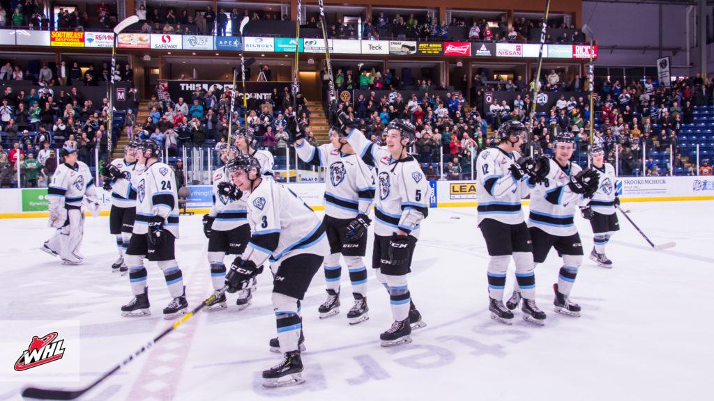 Whl Tonight Kootenay Ice Dig Deep To Win Final Home Game In