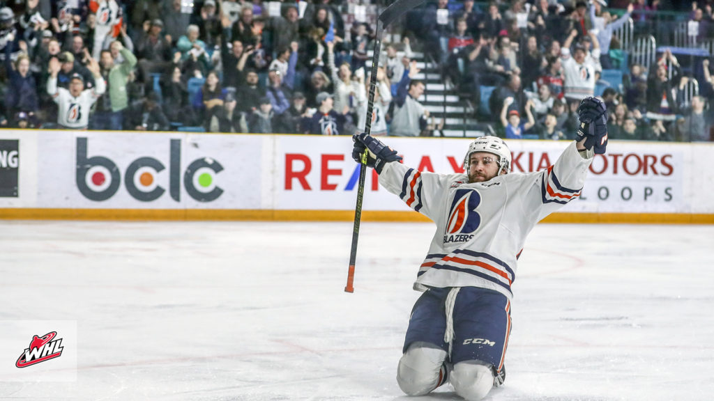 Whl Tonight Blazers Use Strong Third To Storm Past Rockets In