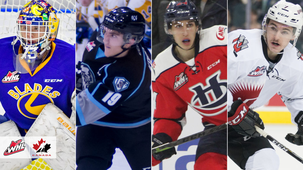 Hockey Canada Names Nine Whl Players To Team Canada Roster For 2019