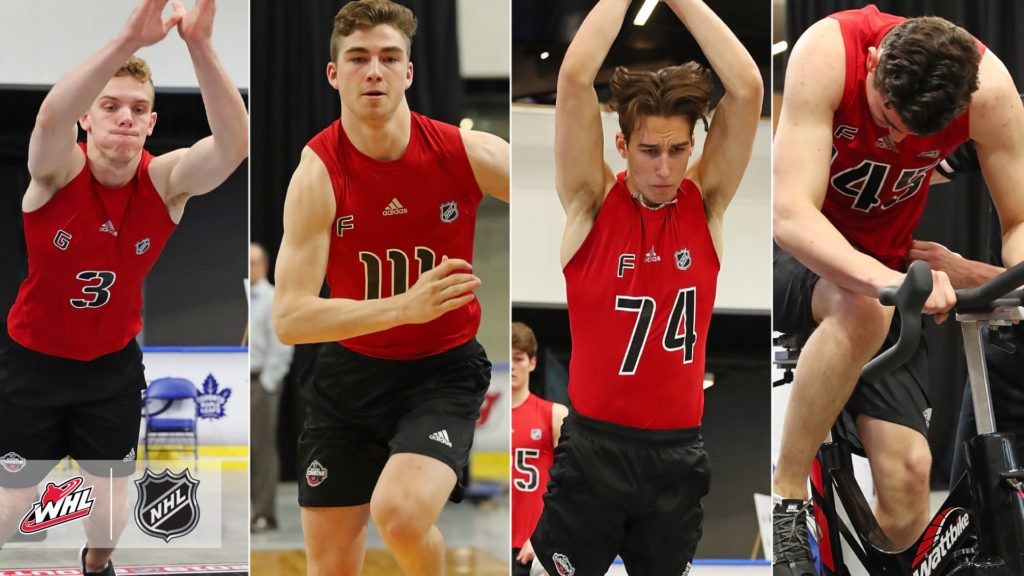 Whl Players Impress At 2019 Nhl Scouting Combine Lethbridge Hurricanes