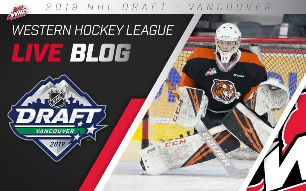 2019 Nhl Draft Whl Live Blog Whl Network