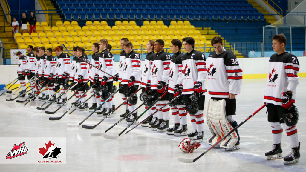 on sale 9151a a8e4e Canada claims top spot in Group A at 2019 Hlinka Gretzky Cup ...