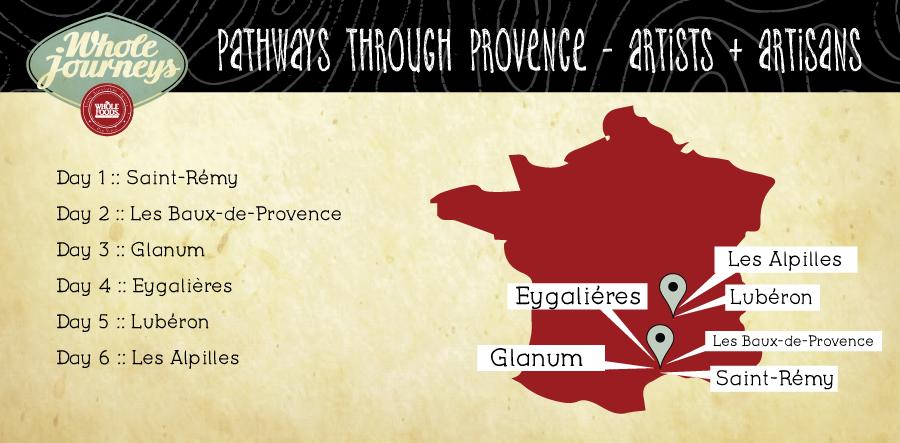 Provence-walking