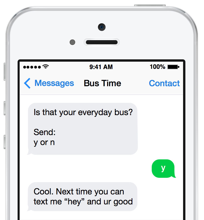 A smarter Bus Time
