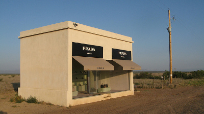 Prada in the Desert