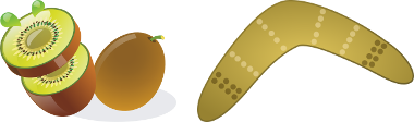 Kiwi Boomerang
