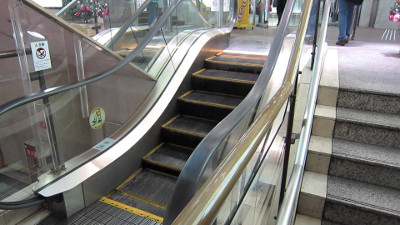 Shortest Escalator
