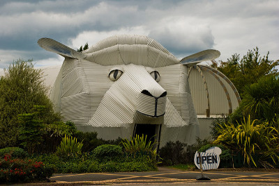Giant Sheep Building