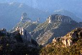 View the green mountains and valleys of Copper Canyon.