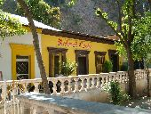 Restaurant Carolina in Batopilas in Copper Canyon.