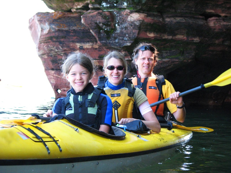 Our Grand San Juan sea kayaks are perfect for the whole family!