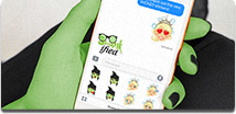 WICKED ios stickers