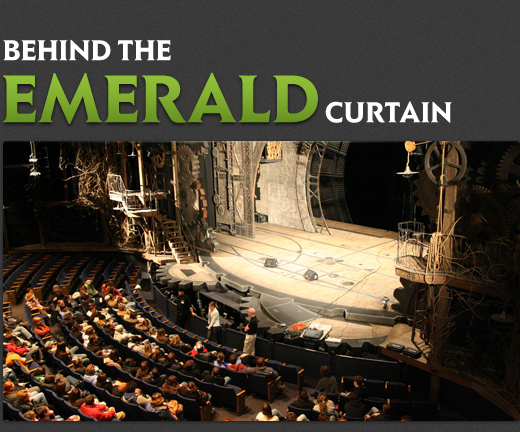 Wicked Broadway Behind the Emerald Curtain Title
