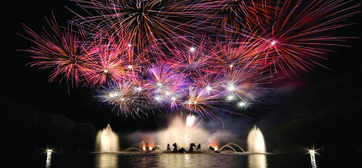 firework, show, musical, fountain, mermaid