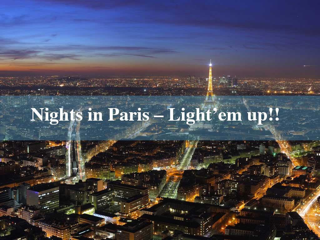 Nightlife in paris, Nights in paris, night in paris, concerts in paris, music concerts