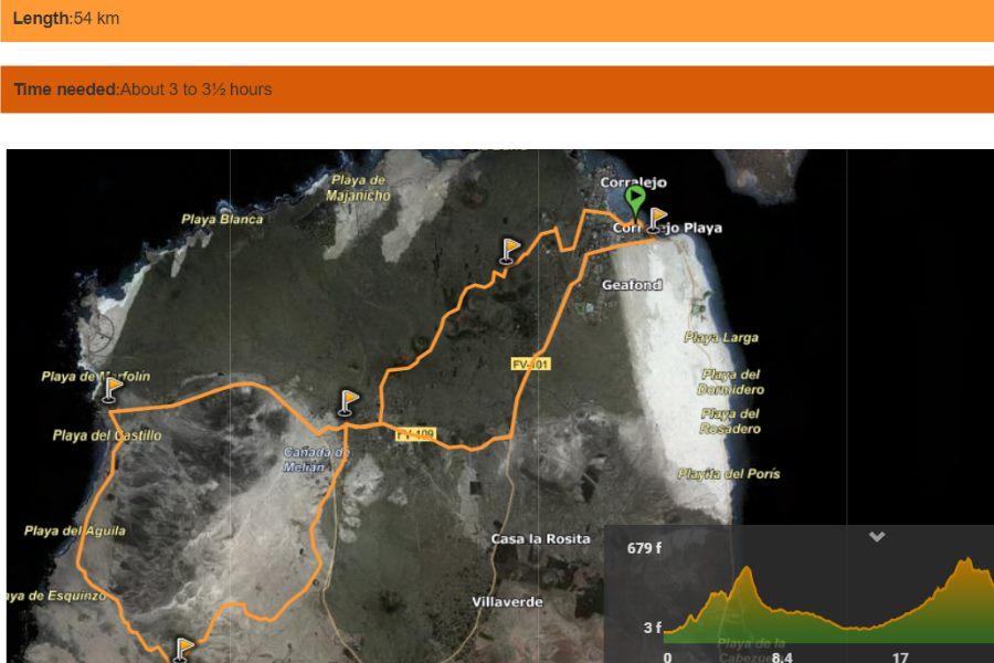 Fuerteventura-fietsen